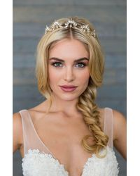 Brides & Hairpins Roma Crown Halo Comb - Metallic
