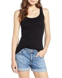 Splendid - Scoop Neck Tank - Lyst