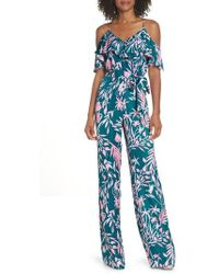 Lilly Pulitzer - Lilly Pulitzer Emilea Cold Shoulder Jumpsuit - Lyst