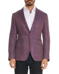 Robert Graham - Corbett Tailored Fit Stripe Linen Sport Coat - Lyst