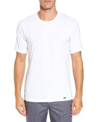 Hanro - Living Crewneck T-shirt - Lyst