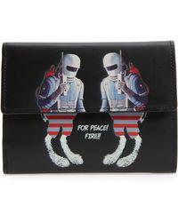 Undercover - Spacemen Leather Wallet - Lyst