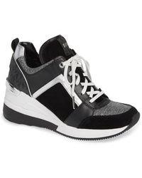 MICHAEL Michael Kors - Georgie Wedge Sneaker - Lyst