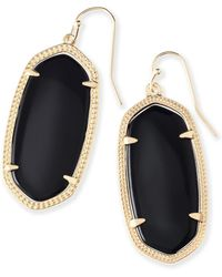 Kendra Scott - Elle Filigree Drop Earrings - Lyst