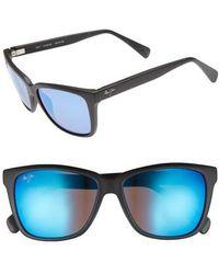 Maui Jim - 56mm Jacaranda Polarized Sunglasses - Lyst