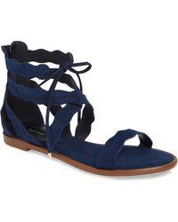 2619e518cce1 Kensie Boston Flatform Sandal in Black - Lyst