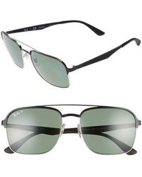 Ray-Ban - 58mm Polarized Sunglasses - - Lyst