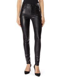 J Brand - Maria Coated High Waist Skinny Jeans - Lyst