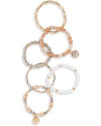 Shashi - Nadia Set Of 6 Bracelets - Lyst