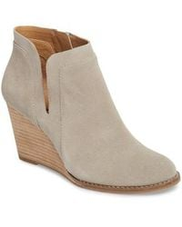 Lucky Brand - Yabba Wedge Bootie - Lyst