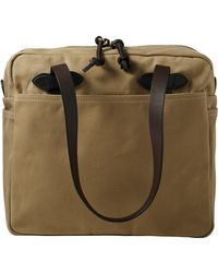 Filson - Tote Bag With Zipper Otter Green - Lyst