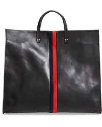 Clare V. - Simple Leather Tote - - Lyst