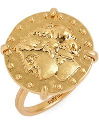 Tory Burch - Coin Ring - Lyst