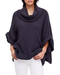 Free People - So Comfy Cowl Neck Top - Lyst