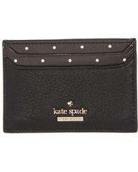 Kate Spade - Blake Street Dot Lynleigh Card Case - Lyst
