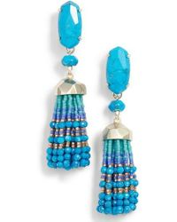Kendra Scott - Dove Tassel Earrings - Lyst