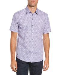 Zachary Prell - Madorin Regular Fit Sport Shirt - Lyst