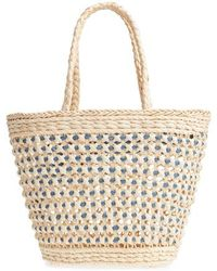 Nordstrom - Woven Straw Tote - Lyst