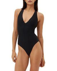 Sweaty Betty - Carve One-piece Swimsuit - Lyst