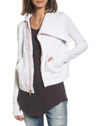 Frank & Eileen - Zip Fleece Jacket - Lyst