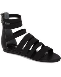 Charles David | Maide Elastic Gladiator Sandal | Lyst