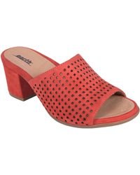 Earth - Earth Ibiza Perforated Sandal - Lyst