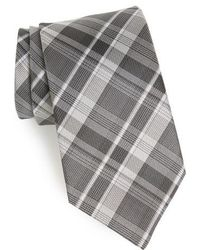 John Varvatos - Plaid Silk Tie - Lyst