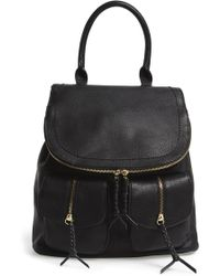 Sole Society - Emery Faux Leather Backpack - Lyst