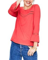 06cfaa8e59 Boden - Gracie Jersey Top - Lyst