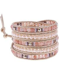Nakamol - Beaded Wrap Bracelet - Lyst