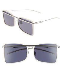 Calvin Klein   60mm Butterfly Sunglasses   Lyst