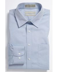Nordstrom - Smartcare(tm) Trim Fit Solid Dress Shirt - Lyst
