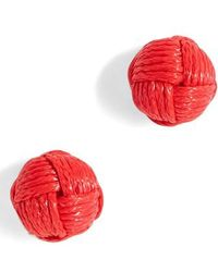 J.Crew | J.crew Love Knot Stud Earrings | Lyst