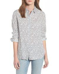 Barbour - Hustanton Button Front Shirt - Lyst