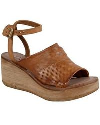 A.s.98 - Niall Platform Wedge Sandal - Lyst