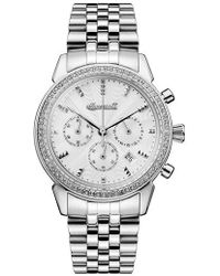 INGERSOLL WATCHES - Ingersoll Crystal Accent Chronograph Bracelet Watch - Lyst