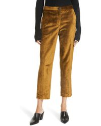 Rag & Bone - Poppy Velvet Pants - Lyst
