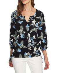 Chaus - Tropical Oasis Side Tie Top - Lyst