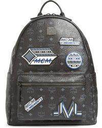 MCM | Stark Visetos Patch Faux Leather Backpack | Lyst