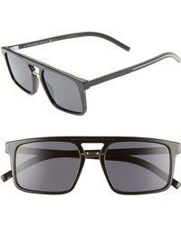 322701cc6 Dior Homme Black Tie Titanium Aviator Sunglasses in Blue for Men - Lyst