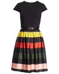 Ted Baker - Cruise Stripe Fit & Flare Dress - Lyst
