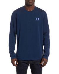 Under Armour - Heatgear Long Sleeve Performance T-shirt - Lyst