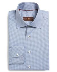 Robert Talbott - Tailored Fit Check Dress Shirt - Lyst