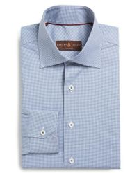 Robert Talbott - Tailored Fit Check Dress Shirt - Lyst