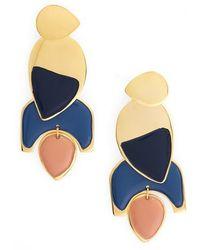 Lizzie Fortunato - Blue Horizon Drop Earrings - Lyst