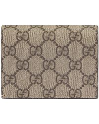 3a8dcc15eb2e Gucci - Linea Gg Supreme Canvas Card Case - - Lyst