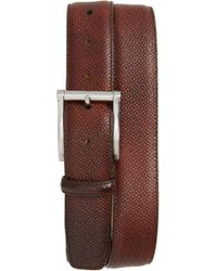 Magnanni - Grab Cott Leather Belt - Lyst