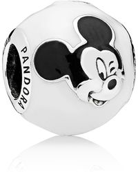 PANDORA - Disney Mickey Mouse Bead Charm - Lyst