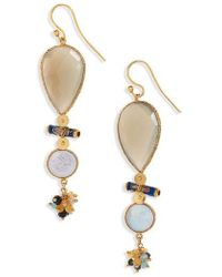 Gas Bijoux - Poeme Drop Earrings - Lyst
