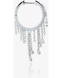 Yvonne Léon - Chandelier Grey Diamond Earring - Lyst